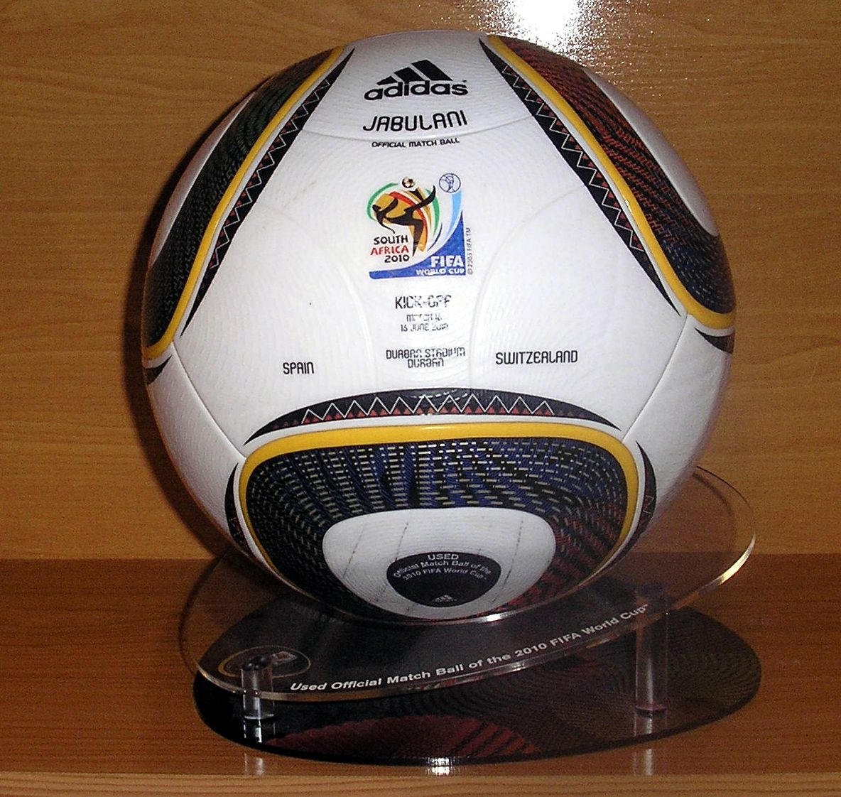super popular 0a605 7ad4f Made in China match ball FIFA World Cup 2010 South Africa Adidas ...
